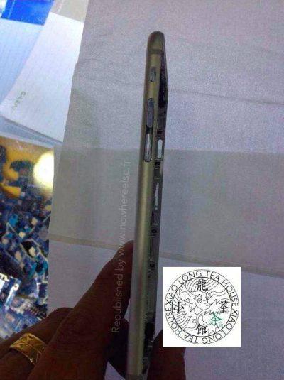 أحدث صورة مسربة تظهر الغطاء الخلفي للـ iPhone 6 بشكل مفصل