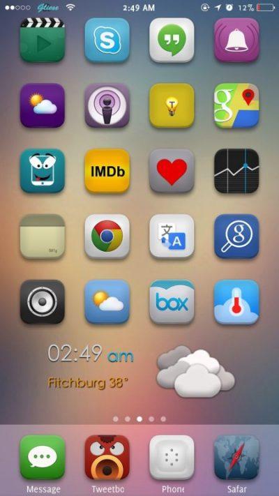 ثيمات ايفون مجانية iOS 8